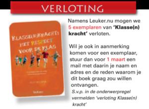 Verloting boek